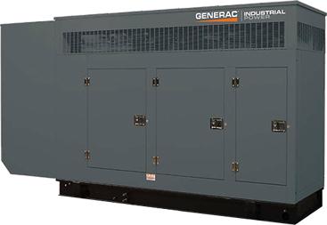 水冷式ガスエンジン常用/非常用兼用発電機