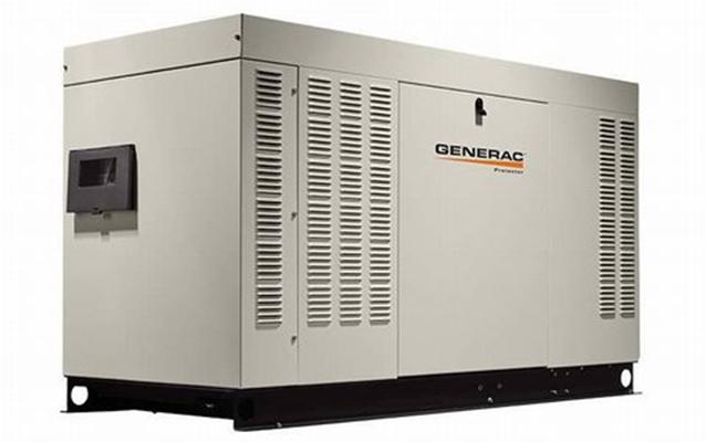 水冷式ガスエンジン非常用発電機