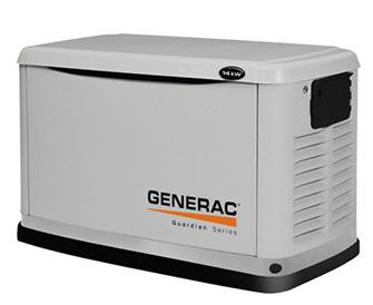 空冷式ガスエンジン非常用発電機