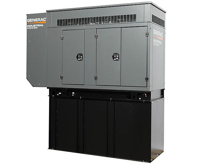 水冷式ディーゼルエンジン常用/非常用兼用発電機